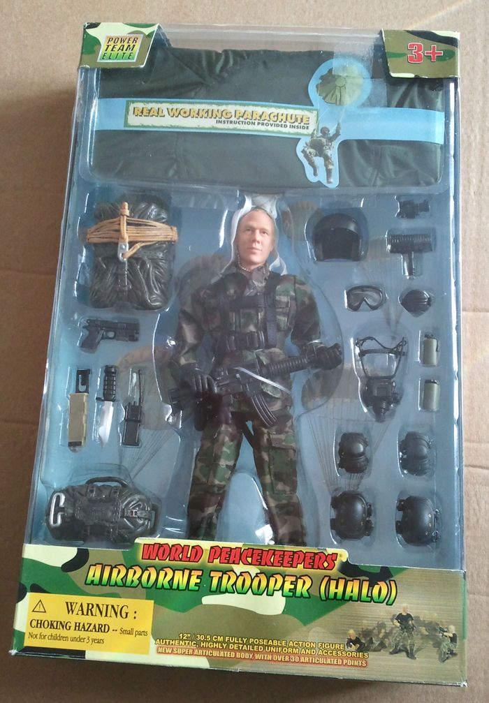 WORLD PEACEKEEPERS - AIRBOURNE TROOPER (HALO) - BOXED   eBay