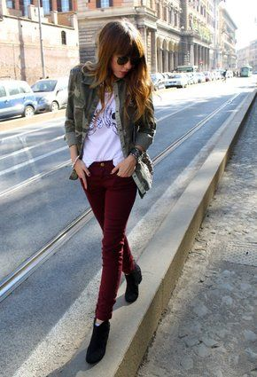 15 Fall Winter Fashion with Military Style Jacket