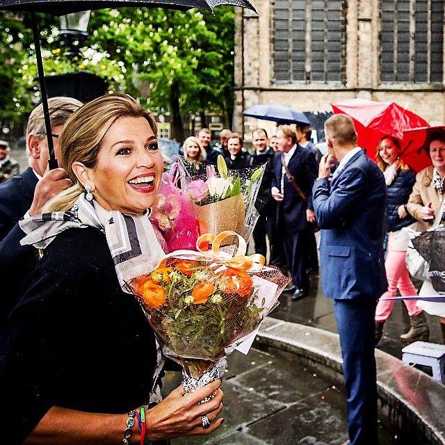 18-05-2015 Koningin Maxima bij de oratie van professor Javier A. Couso in het Academiegebouw van de Universiteit Utrecht. #queenmaxima #queen #netherlands #dutch #koninginmaxima #koningin #nederland #universiteitutrecht #academiegebouw #maxima