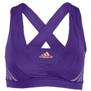 adidas Supernova Racer Bra - Women's - Running - Clothing - Power Purple
