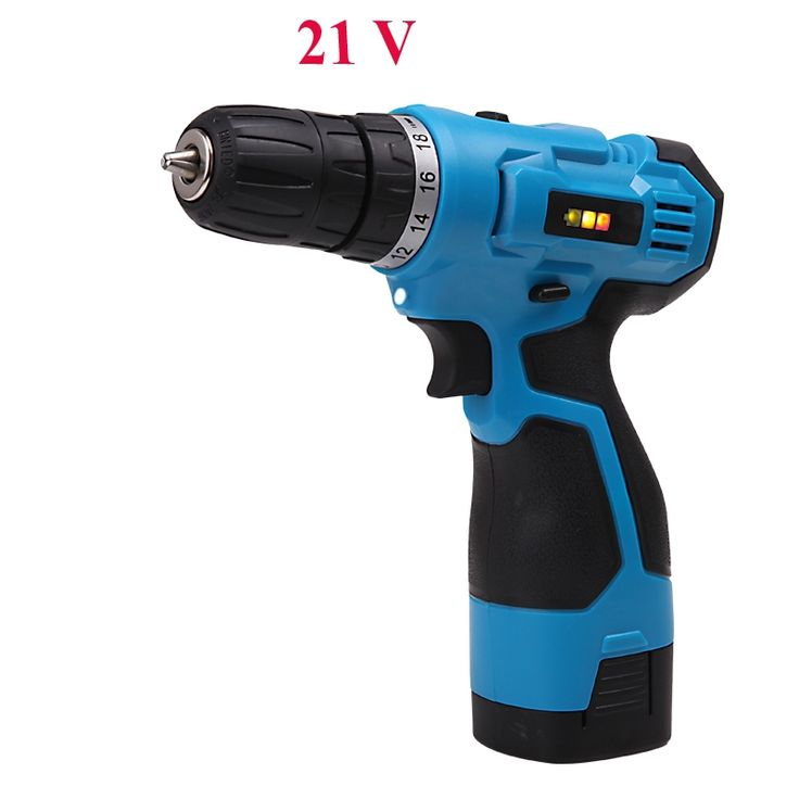 71.80$  Watch now - http://alih2l.worldwells.pw/go.php?t=32439831781 - 21v cordless drill  electric drill battery drill Two-Speed Rechargeable Lithium Battery Waterproof Hand Drill LED Light