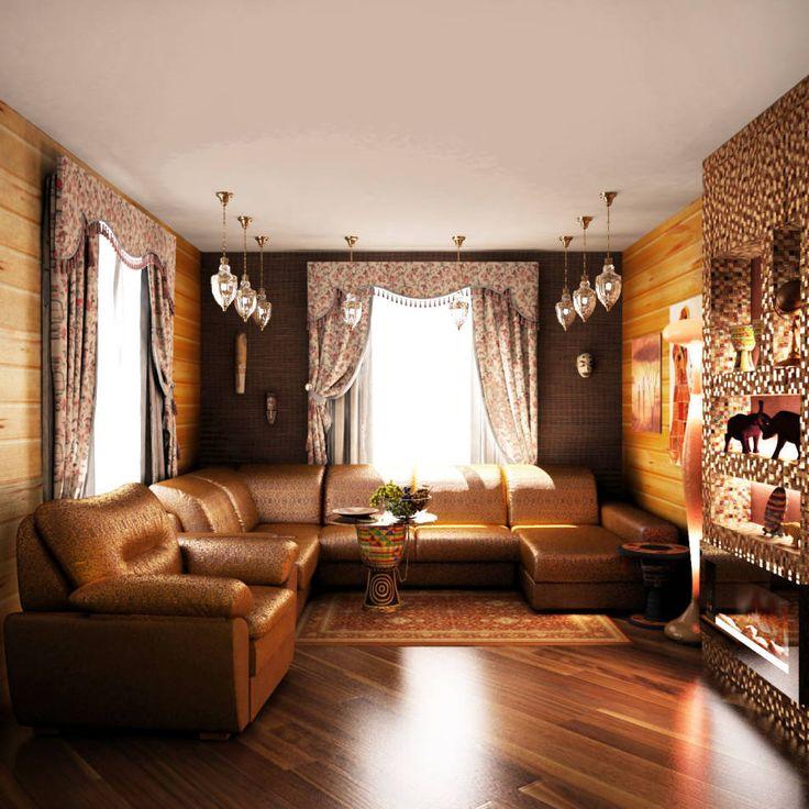 Salon Style Asiatique