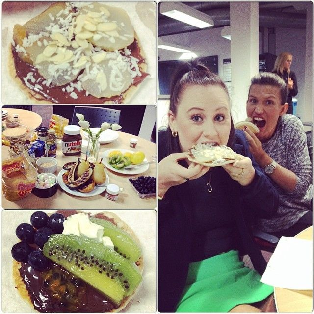 A Nutella office party!