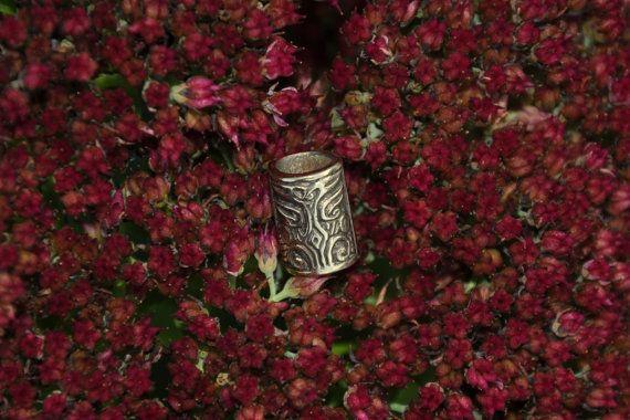 Viking / Dwarvish beard ring / beard bead_bronze 17$ Clik now no see details
