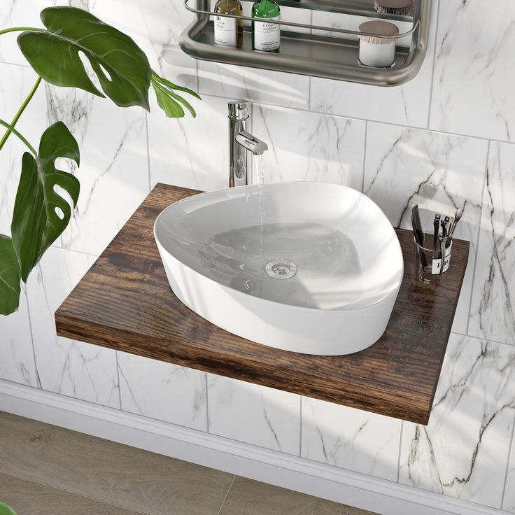 Click here to find out more about the Mode Swan thin edge countertop basin - £59.992