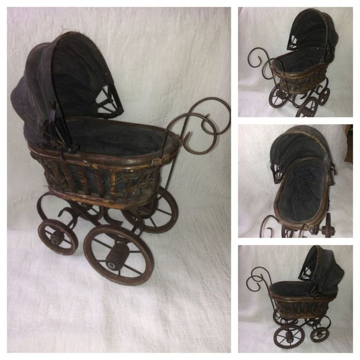 17 Best Images About Old Vintage Antique Prams And Cribs
