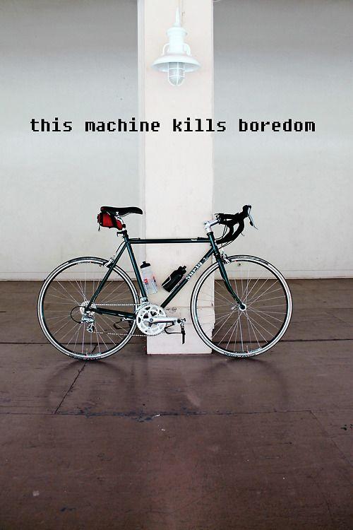 Boredom killing machine #bicycle #cycling