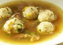 Morkové knedlíčky jemné - zavářka do polévky