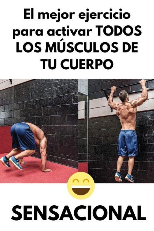 ¿Tienes poco tiempo para entrenar? ¿Deseas quemar calorías a lo bestia? ¿Quieres activar prácticamente todos los músculos de tu cuerpo en un solo ejercicio? Este artículo es para tí. Runner Tips, Full Body, Yoga, Fitness, Gym Stuff, Sports, Runners, Building, Calisthenics Workout
