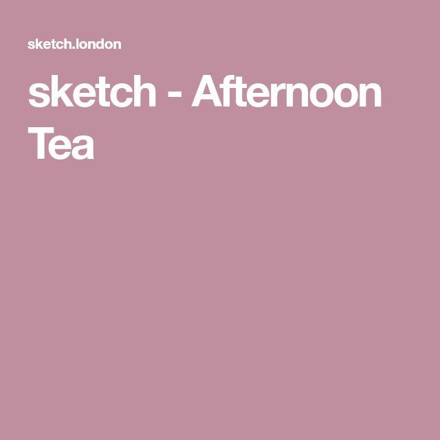 sketch - Afternoon Tea