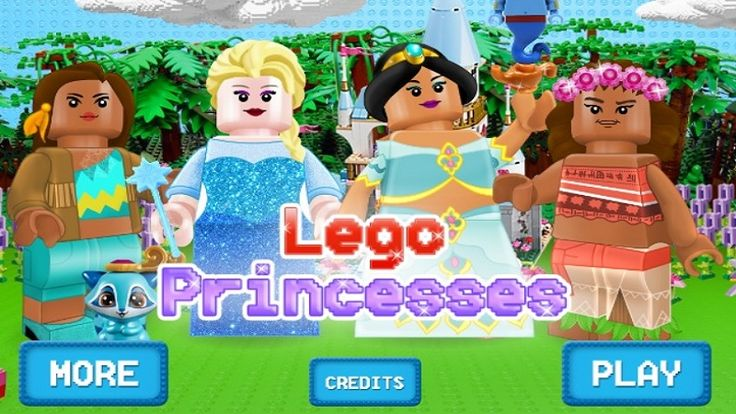 In Lego Princesses, have you heard the news, girls? Lego and Disney have a huge surprise for you ladies… a Lego Princess mix surprise. To discover it, hurry up and get the 'Lego Princesses' dress up game for girls started and prepare to meet the very first Lego characters from your favorite fairytales. Pocahontas, Elsa, Jasmine and Moana are the first Disney Princesses to feature our Lego dress up Game and this is your chance to create the looks for their next adventures.