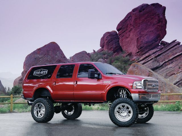 2000 Ford Excursion 7.3L Power Stroke Diesel 4X4 #lifted