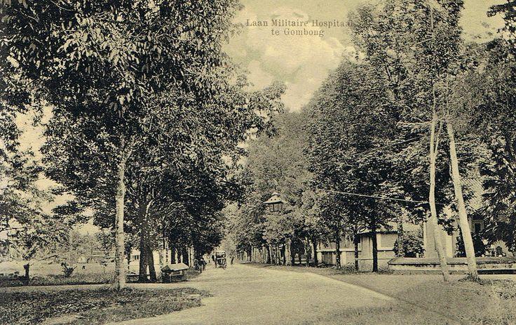 KNIL- Dutch East Indies army barracks Gombong, Java- military hospital