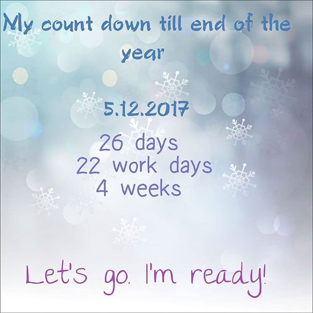 End of the year feeling is awesome..My realtor December  count down started .Full of challenges, events, positive thoughts.We ready to embrace the end of this wonderful year 2017!#december #endofyear #positivevibes #bepostive #calendar #agenda #lastmonth #realtor #realestate #realty #realtorlife #realtorcommunity #realty #broker #work #week #abudhabi #visitabudhabi #abudhabimagazine #uae #lacasarealestate #unitedarabemirates #localrealtors - posted by La Casa Real Estate Abu Dhabi…