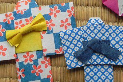 折り紙 夏 祭り 浴衣