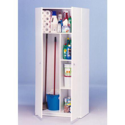 M s de 25 ideas fant sticas sobre almacenamiento de escoba - Armario escobero cocina ...