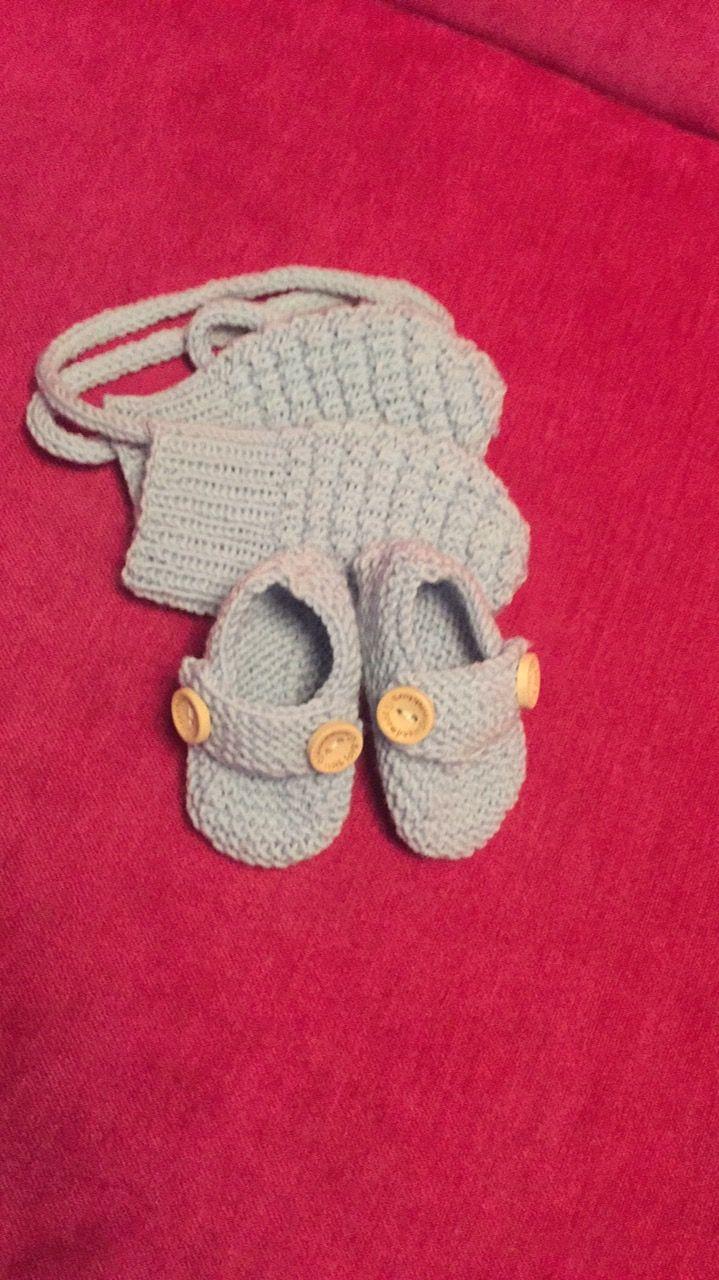 Baby votter og tøfler