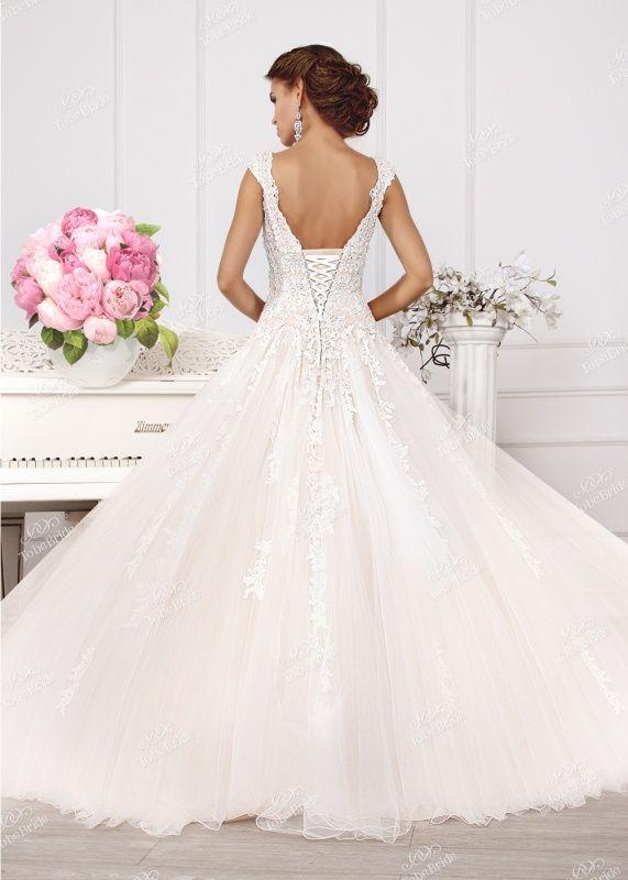 SL0170Свадебное платье с рукавом, свадебное платье с открытой спиной