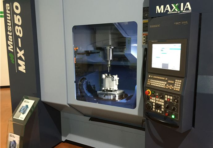 New Matsuura MX 850 5 axis machining centres