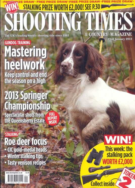 Shooting Times – another cracker!