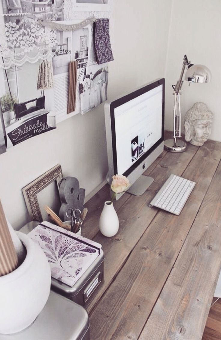 Best 25+ Desk layout ideas that you will like on Pinterest | Home ...