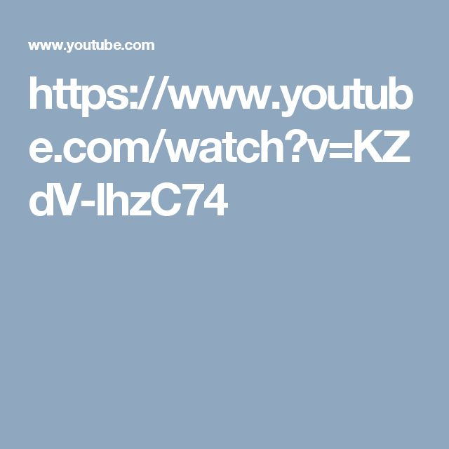 https://www.youtube.com/watch?v=KZdV-lhzC74