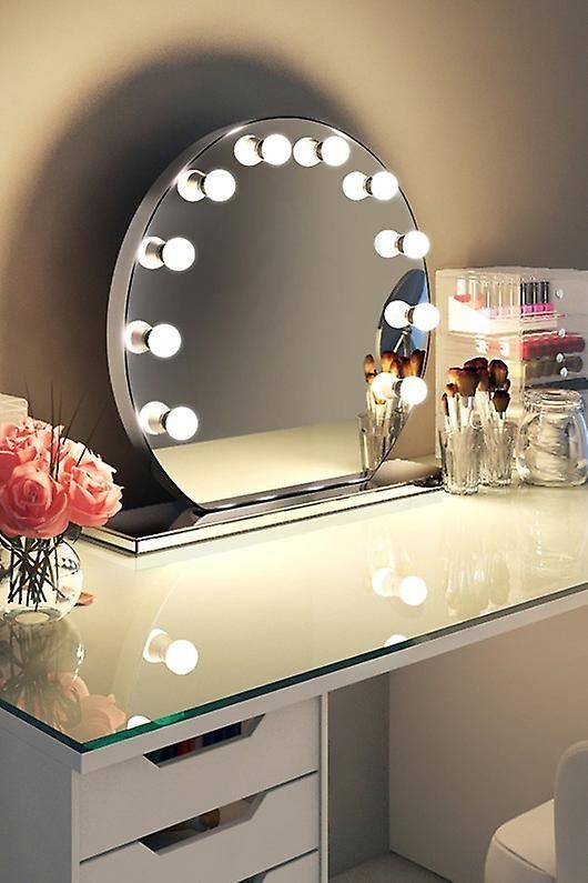 Best 25 make up mirror ideas on pinterest mirror vanity light up mirror vanity and light up - Hollywood spiegel lampen ...