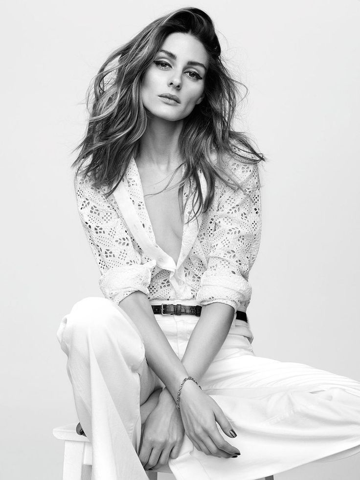 Olivia Palermo for Madame Figaro France May 2015 by Benoit Peverelli - Valentino blouse