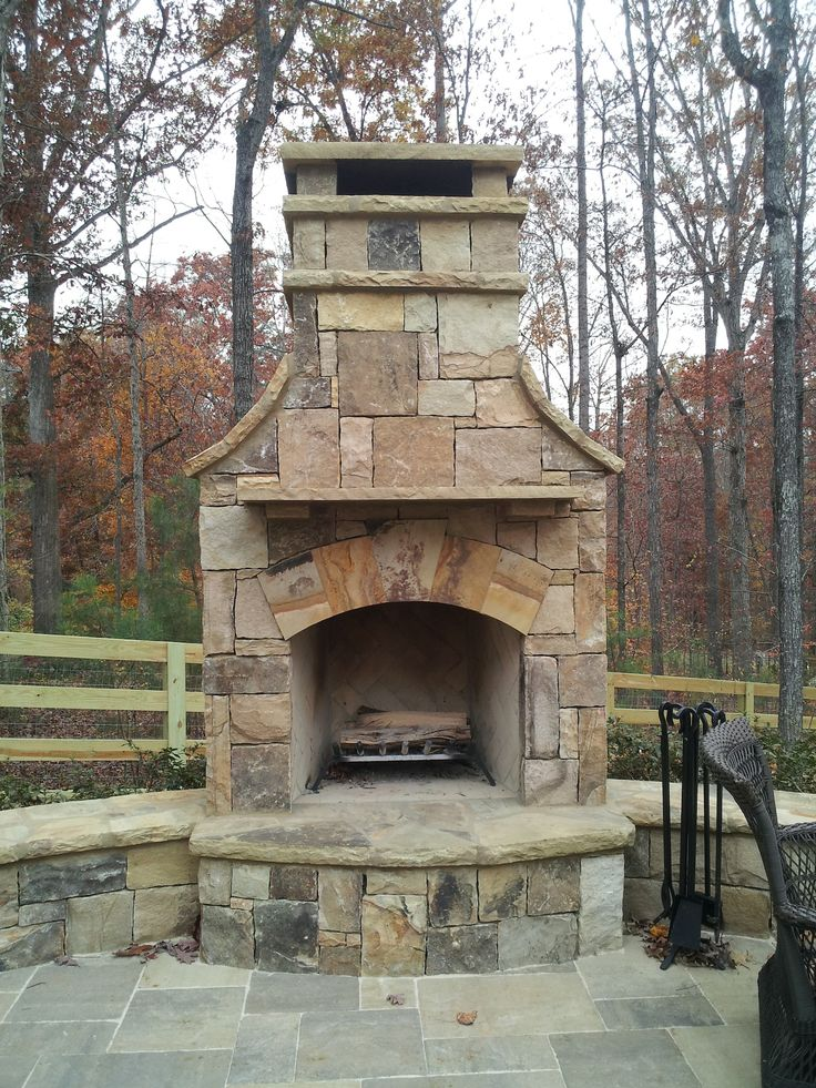 Fireplace Design inside outside fireplace : 631 best Outdoor fireplace pictures images on Pinterest