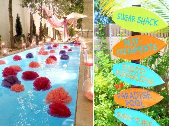 Festa na piscina pool party piscinas festas e festas for Piscina party