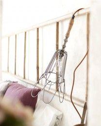 Lámpara de colgar de hierro