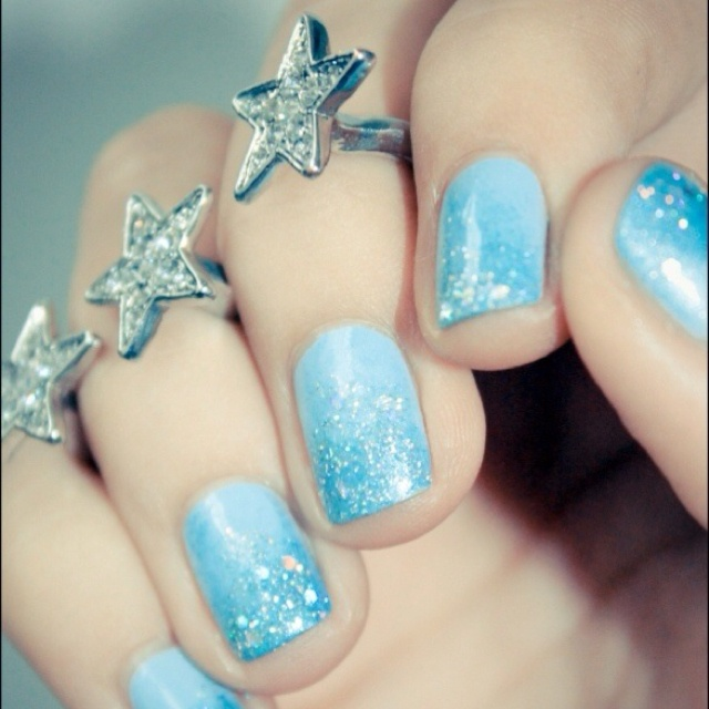 Best 25+ Sky blue nails ideas on Pinterest | Baby blue nails, Spring 2017  nail trends and Spring nail trends - Best 25+ Sky Blue Nails Ideas On Pinterest Baby Blue Nails