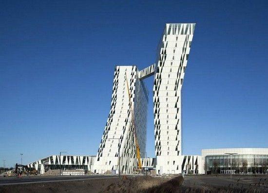 Необычные отели мира: скандинавский Bella Sky Hotel (Дания)
