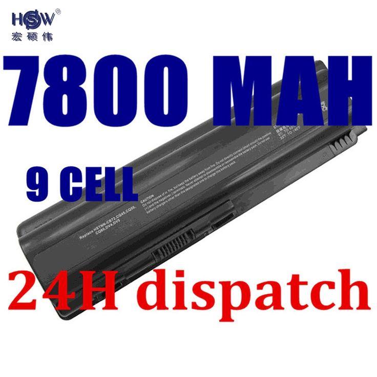 HSW New laptop Battery for HP Pavilion DV4 DV5 DV6 G71 G50 G60 G61 G70 HSTNN-IB72 HSTNN-LB72 HSTNN-LB73 HSTNN-UB72 HSTNN-UB73 #Affiliate