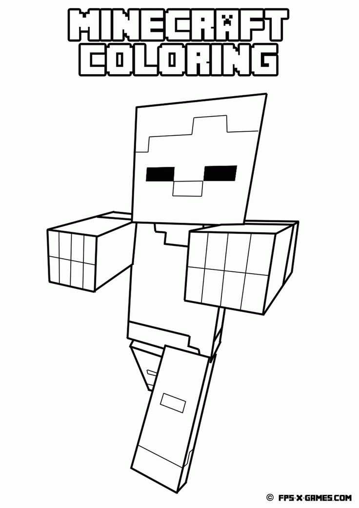 33 best Minecraft coloring images on Pinterest Coloring books - new coloring pages of the diamond minecraft