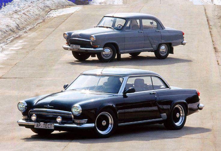 Gaz Volga 21 & Volga V12 Coupe