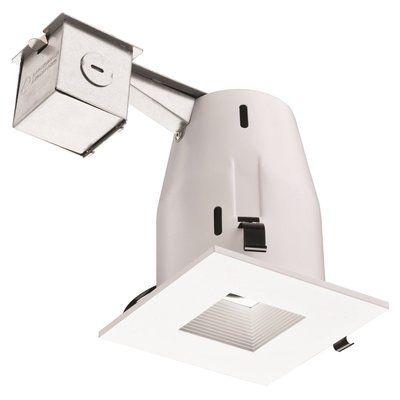 This recessed kit is the perfect way to brighten up the interior of your home or commerce with style. This recessed lighting kit features patented PUSH-N-CLICK clips which are fully adjustable and extra wide to grip uneven surfaces and provides for easy tool-free installation. This recessed light features a swivel light bulb, giving you the ability to focus light on specific areas and can be directed for any desired look. This pot light kit features an integrated cut-off switch, ensuring…