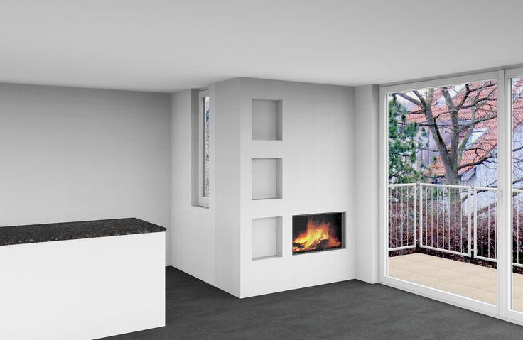 CAD-Modell für Cheminéeanlage