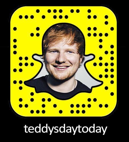 Ed Sheeran Snapchat Username & Snapcode  #edsheeran #snapchat http://gazettereview.com/2017/01/ed-sheeran-snapchat-username-snapcode/
