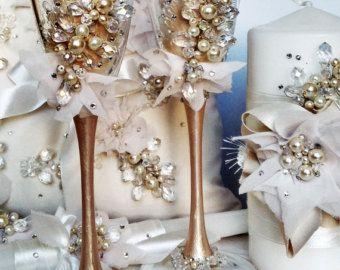 gepersonaliseerde bruiloft fluiten, bruiloft champagne glazen roosteren fluiten, champagne fluiten proosten fluiten pesrl champagne…