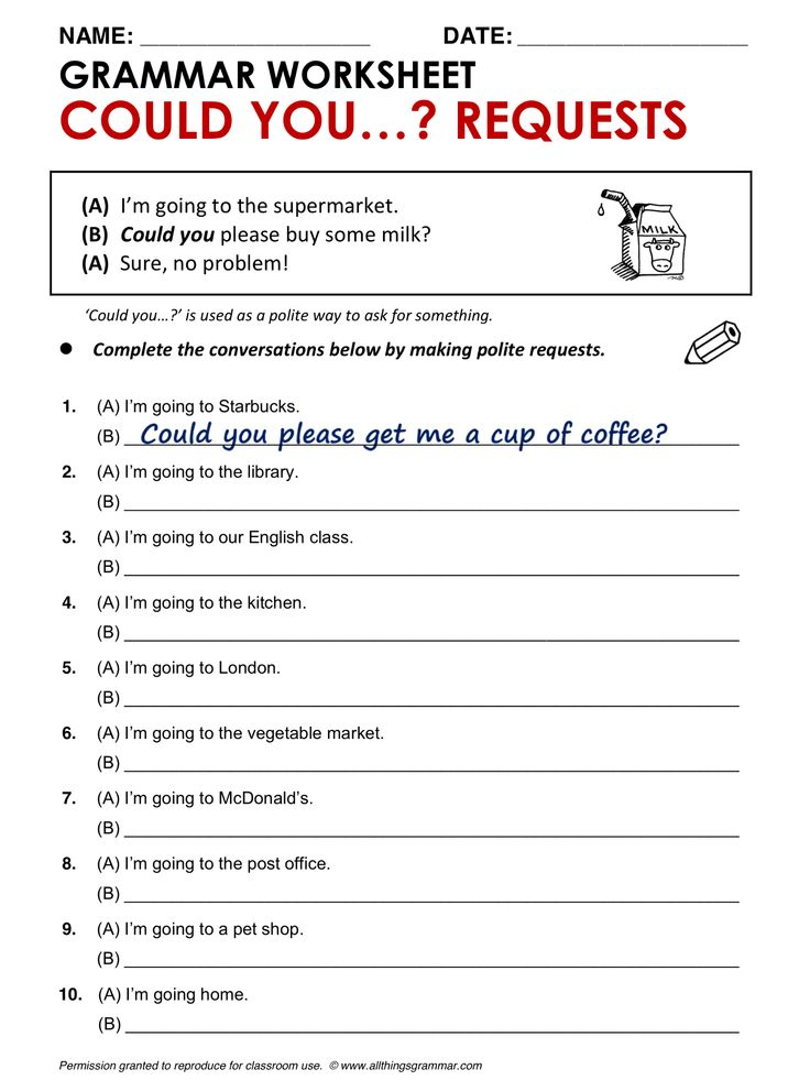 English Grammar Could you ...? (Polite) Requests www.allthingsgrammar.com/could-you-requests.html