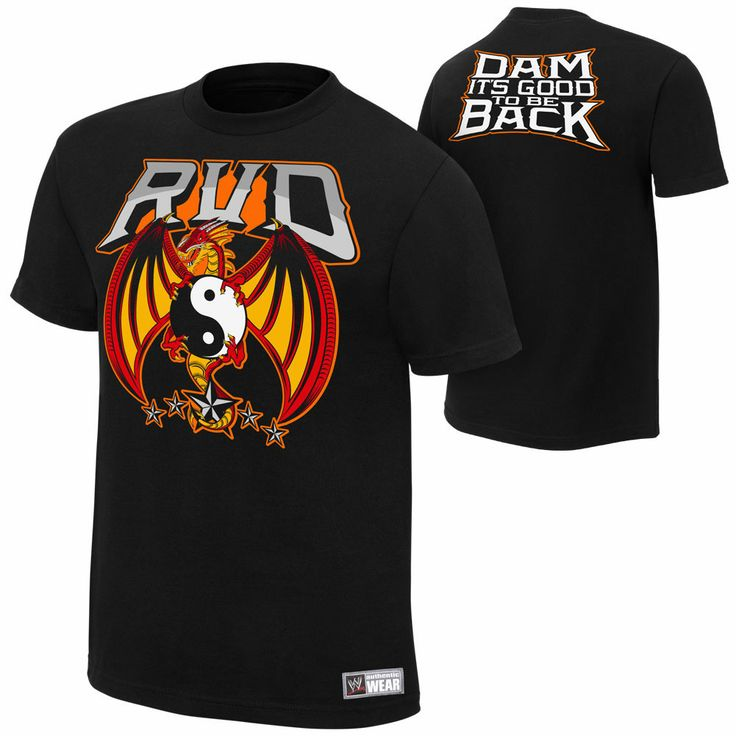 Welcome back Rob Van Dam, Welcome back.