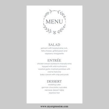 Best 25+ Menu card template ideas on Pinterest Restaurant menu - microsoft word menu templates