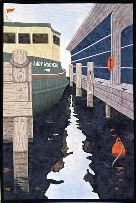 Alison Laurence 'Dockside Reflections'