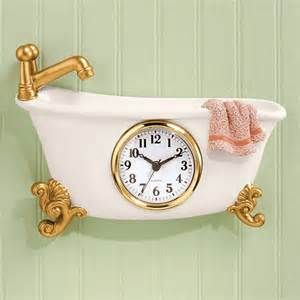 Battery Operated Bathroom Wall Clocks - The Best Image Search
