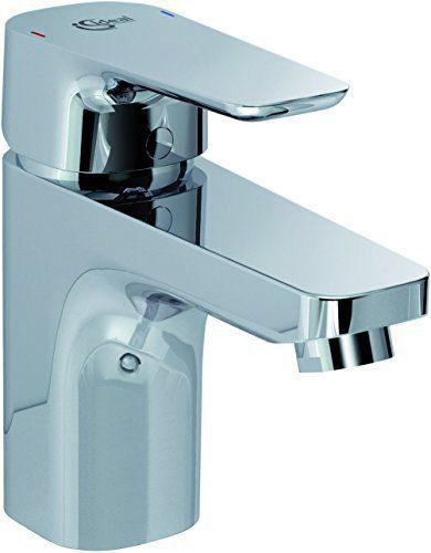 Ideal Standard B0751AA Kheops Mitigeur lavabo grande vidage Métal C2 Chrome: Price:49.76Bec fixe avec aérateur cascade intégré – Cartouche…
