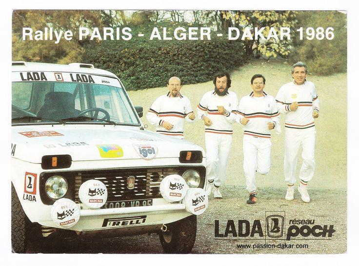 Carte TEAM LADA DU 8 éme PARIS-ALGER-DAKAR 1986.jpg (1133×839)