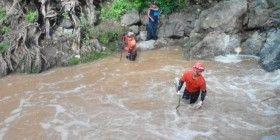 Se activan protocolos de búsqueda por dos desaparecidos en río de Oaxaca