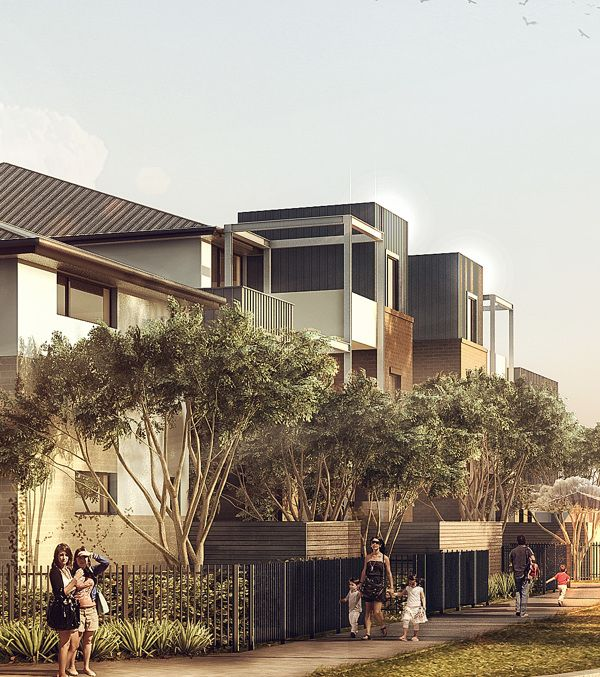 Architectural Viz for Melbourne, Australia by Pedro Fernandes - Arqui9.com, via Behance