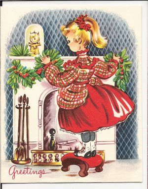1940sChristmas Greeting, 1940S Christmas